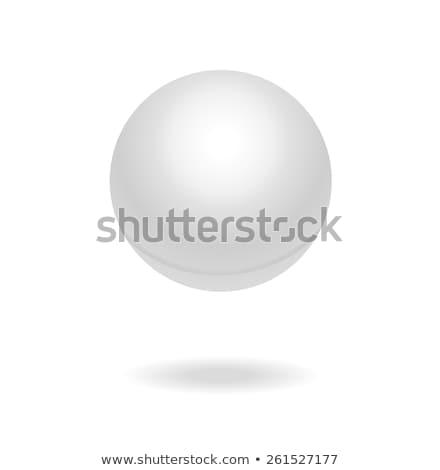 Ilustração ping-pong bola engraçado sapatos copo Foto stock © adrenalina