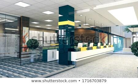 Müşteri durmak büyük açmak uzay ofis Stok fotoğraf © sedatseven