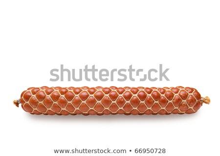 Sausage long loaf Stock photo © zhekos