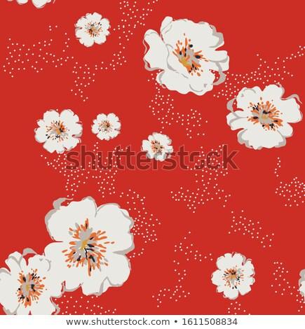 multicolore · rose · senza · soluzione · di · continuità · floreale · pattern · fiore - foto d'archivio © isveta