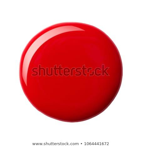 Vermelho unha polonês Foto stock © TheProphet
