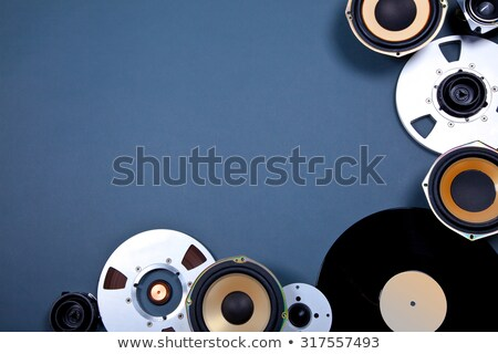 abstract multiple musical background Stock photo © pathakdesigner