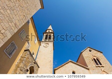 Church Saint John (Ivan) in  Budva, Montenegro Stock photo © vlad_star