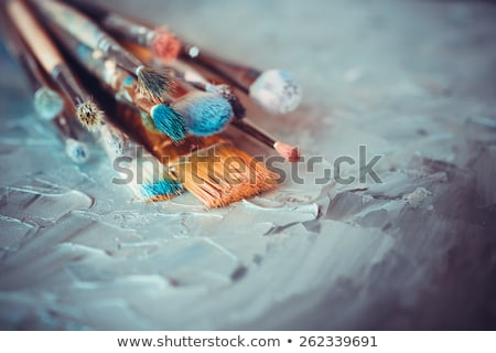 Artisan with brushes Stock photo © photography33