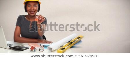 trancado · teclas · cadeado · cadeia · caderno · teclado - foto stock © broker