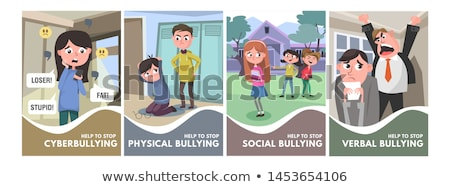Odio escuela estudiante aprendizaje estudio Foto stock © silent47