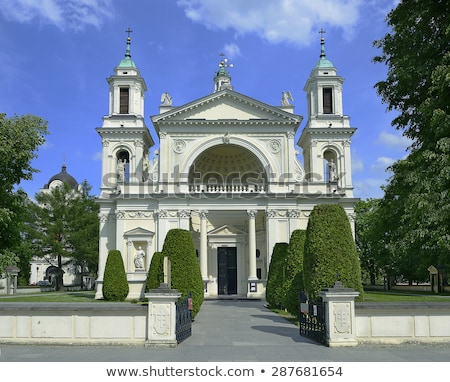 St. Anne's Church, Wilanow Palace. Stock photo © FER737NG