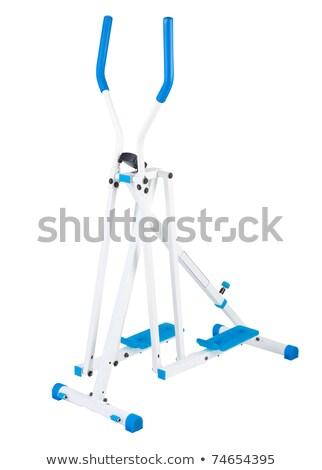 Sky walker exercise tool isolated on white  Stock photo © JohnKasawa