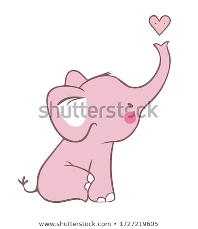 pink elephant stock photo © pcanzo