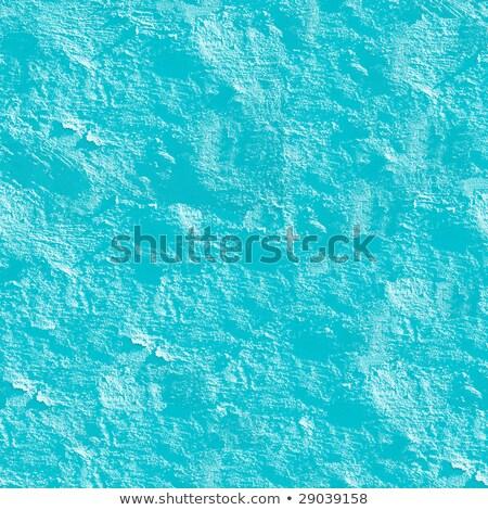 Azuur pleisterwerk naadloos textuur patroon zie Stockfoto © Leonardi