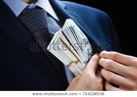 Bedrog knop moderne woord partners Stockfoto © tashatuvango