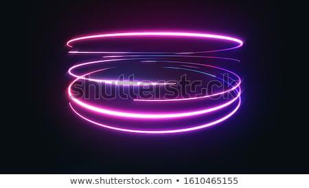 Neon Curves Stock photo © benchart