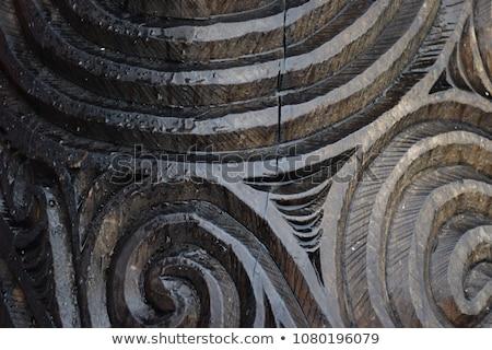 Maori carving Stock photo © RuthBlack