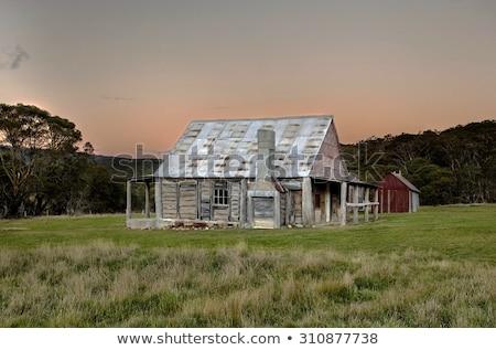 történelmi · épület · Ausztrália · ausztrál · gőz · navigáció - stock fotó © iofoto
