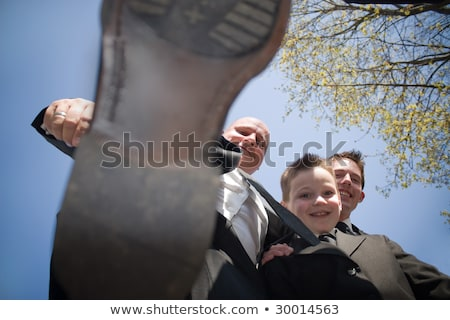 Funny Groomsman Stomping Stock photo © ArenaCreative