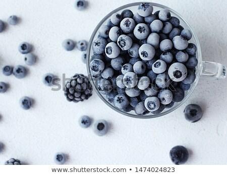 Nuttig bes vruchten achtergrond zwarte eten Stockfoto © grechka333