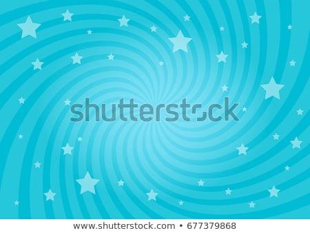 青 · 光 · 色 · 渦 - ストックフォト © Livingwild
