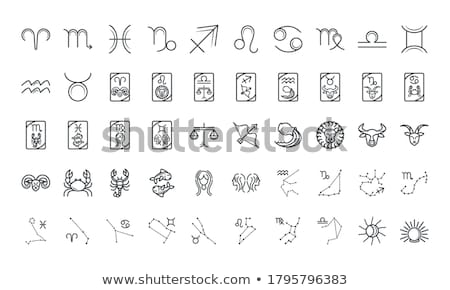Stock photo: zodiac icons
