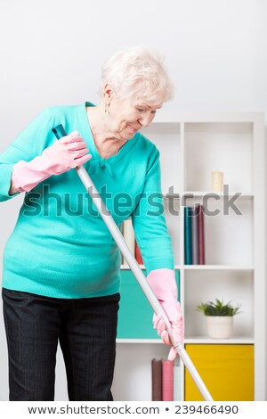 Good looking woman doing the housework Stock photo © pxhidalgo