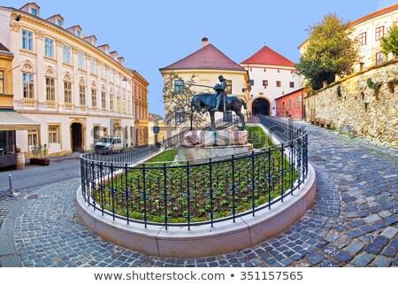 Zagreb piedra puerta uno famoso símbolos Foto stock © smuki