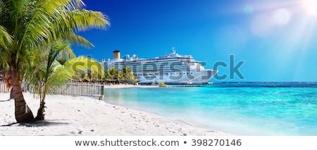 Isla tropical crucero playa mar belleza verano Foto stock © mike_kiev