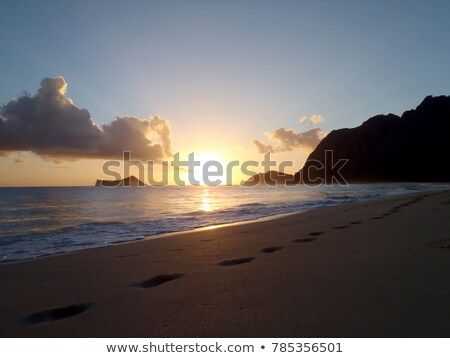 Waimanalo Sunrise Stock photo © LAMeeks