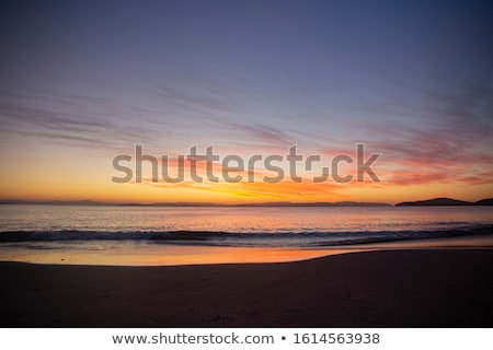 Morning light on the pristine beaches of Australia Stock photo © lovleah