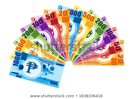 Money used as paper fan Stock photo © ifeelstock