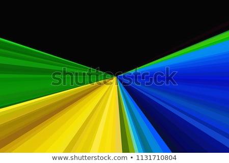 abstrato · azul · verde · futebol · folheto · modelo - foto stock © cienpies