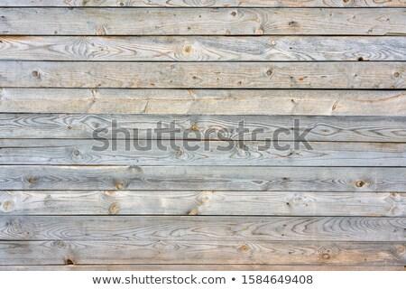 podre · madeira · unhas · painel · enferrujado - foto stock © mps197