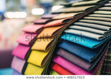 Swatches of fabrics for decoration Stock photo © marimorena