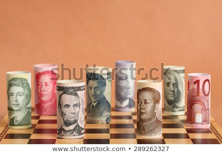 Currency war Stock photo © OneO2