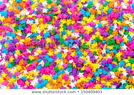 Multi Colored Stars Sprinkles  Stock photo © zhekos