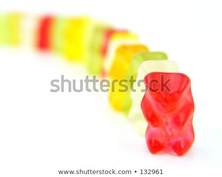 Chef d'équipe jelly beans famille enfants réunion amis Photo stock © spanishalex