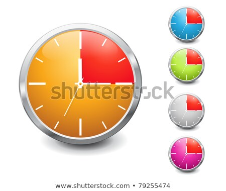 Stop Watch Purple Vector Icon Design Stock photo © rizwanali3d