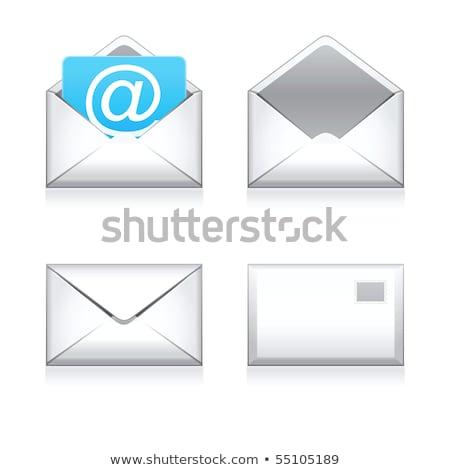Ayarlamak e-mail Internet mesajlaşma 3D yalıtılmış Stok fotoğraf © tashatuvango