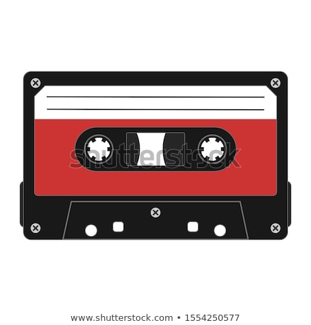 кассету · устаревший · магнитный · аудио · частично · ретро - Сток-фото © witthaya