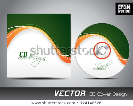 green compact disc stock photo © valeo5