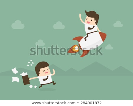 Competitive Advantage. Office Working Concept. Stock photo © tashatuvango