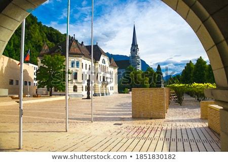 Parliament building in Vaduz  Stock photo © benkrut