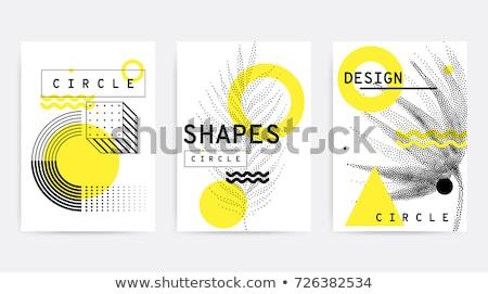 abstract vector design card stock photo © balabolka