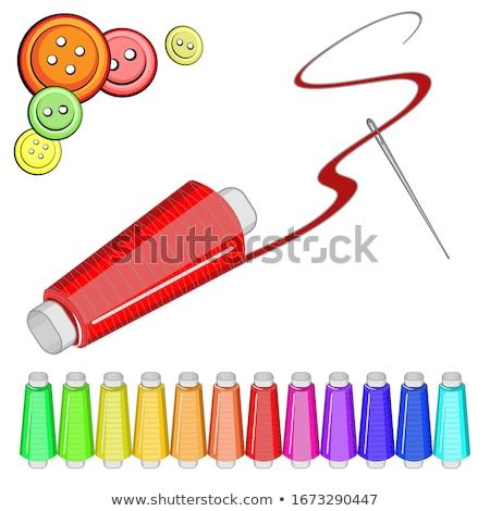 narancs · piros · kék · zöld · rózsaszín · cséve - stock fotó © tetkoren