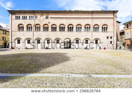 Stock photo: Episcopal Palace on Piazza del Duomo, Parma, Emilia-Romagna, Ita