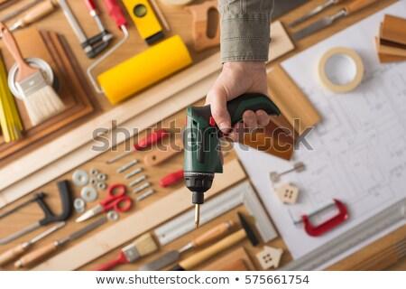 Stockfoto: Grijs · tool · ijzer