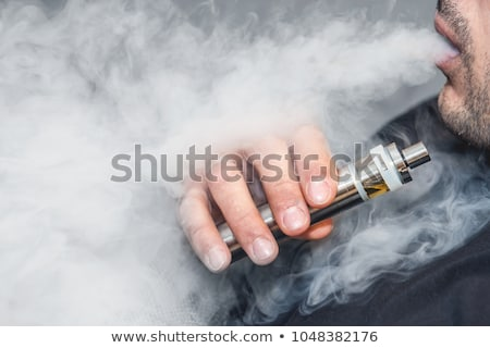 eléctrica · cigarrillo · aislado · blanco · salud · electrónico - foto stock © ozaiachin