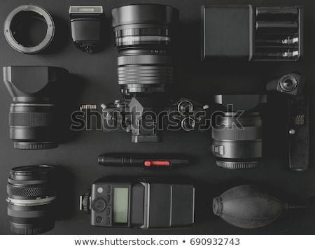 üç göz yüz kadın çalışmak model Stok fotoğraf © Paha_L