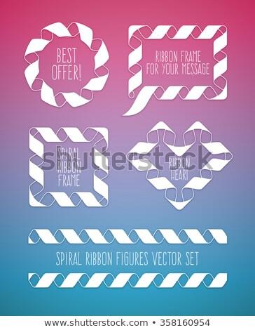 frames · ovaal · silhouet · textuur · achtergrond · frame - stockfoto © loopall