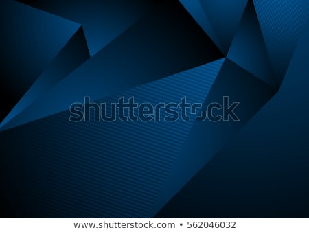 absztrakt · kék · hullám · füst · textúra · eps - stock fotó © beholdereye
