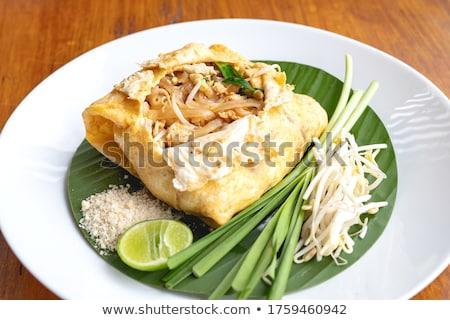 Tailandés chile salsa peces rojo Foto stock © joker