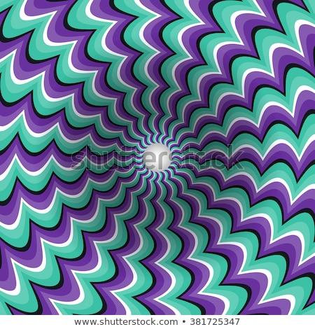 Turquoise optical illusion background  Stock photo © shawlinmohd